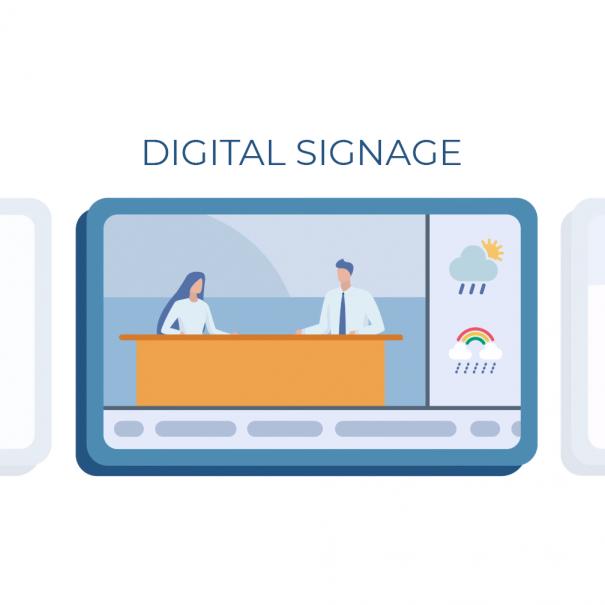 Digital Signage Promotainment