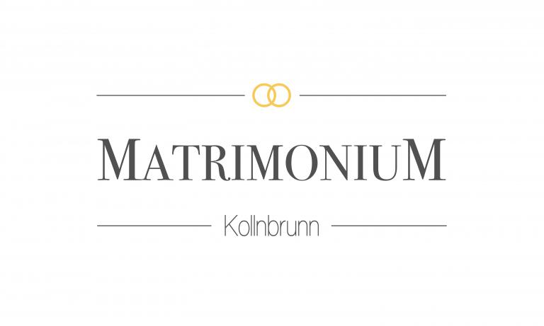 Matrimonium Kollnbrunn Logo Dizign